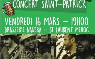 CONCERT GRATUIT SAINT-PATRICK // The Old Joe's Kaya : 16 MARS 2018